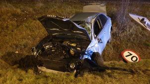 Wymusiła pierwszeństwo, zepchnęła auto. Trzy osoby ranne