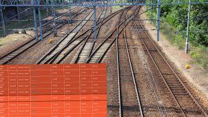 Śmierć pasażera i awaria trakcji zatrzymały pociąg. Blisko dziewięć godzin opóźnienia