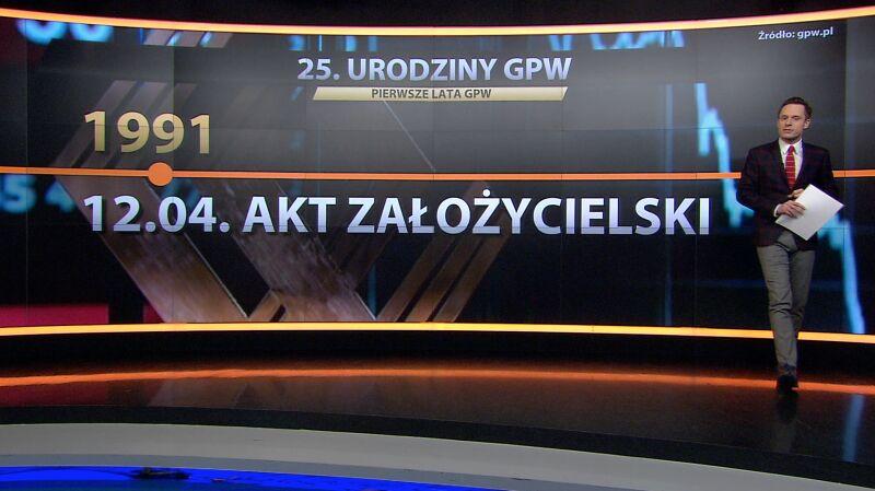 GPW obchodzi 25. urodziny. Oto najważniejsze daty w historii warszawskiego parkietu