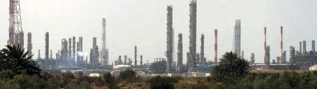Duże spadki cen ropy