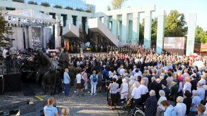 Powstańczy Apel Poległych z udziałem niemieckiego ministra