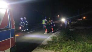 Tragiczny wypadek, nie żyje 25-letni rowerzysta