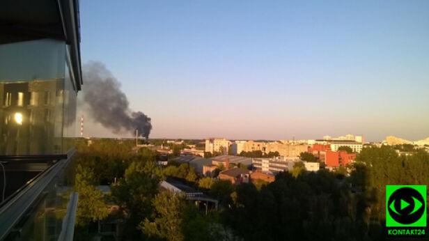 Pożar przy ulicy Dudziarskiej Katarzyna / Kontakt 24