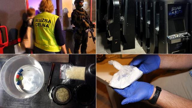 Narkotyki i automaty do gier. Uderzenie w nielegalny hazard