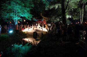 Festiwal światła w Łazienkach. Koncerty, spektakl i lampiony