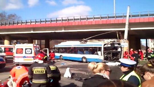 Filmik z wypadku w Gdyni 3