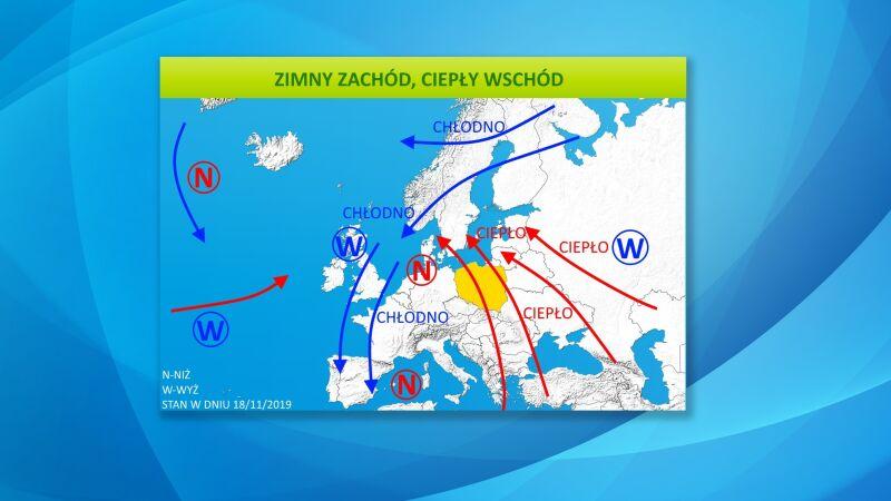 Do Polski napływa ciepłe powietrze
