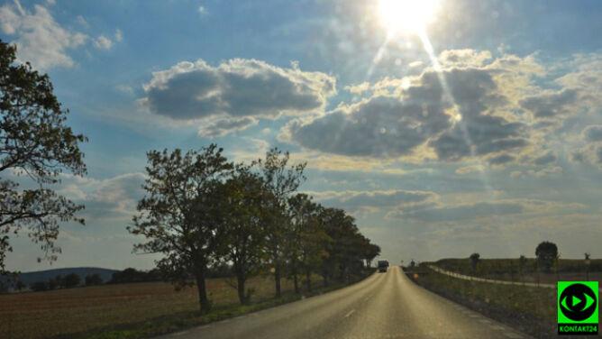 Słońce zaświeci nad drogami