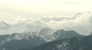 Halny w Tatrach.
