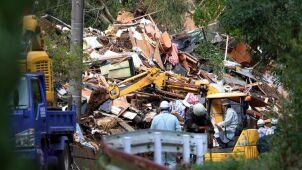 Ulewy i lawiny błotne w Japonii. Zniszczone domy, są zabici
