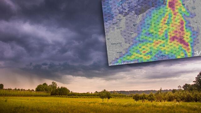 Chmury idą nad Polskę. Deszcz i burze, a w weekend ochłodzenie