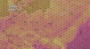 Temperatura w ciągu najbliższych dni (Ventusky.com) | wideo bez dźwięku